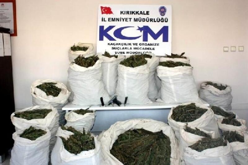Kırıkkale'de uyuşturucuya darbe
