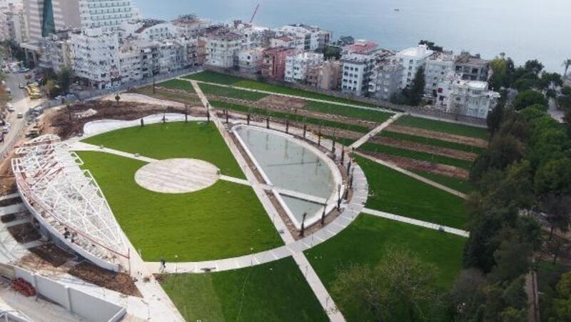 Antalya merkeze Millet Bahçesi