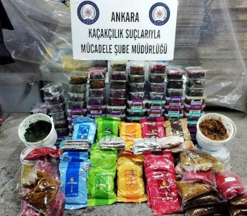 Ankara ve İstanbul'da kaçak tütün operasyonu: 9 gözaltı
