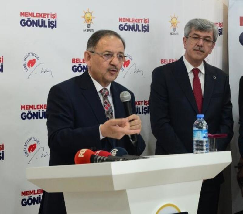 Özhaseki: Ankara'ya adaysanız projelerinizle geleceksiniz