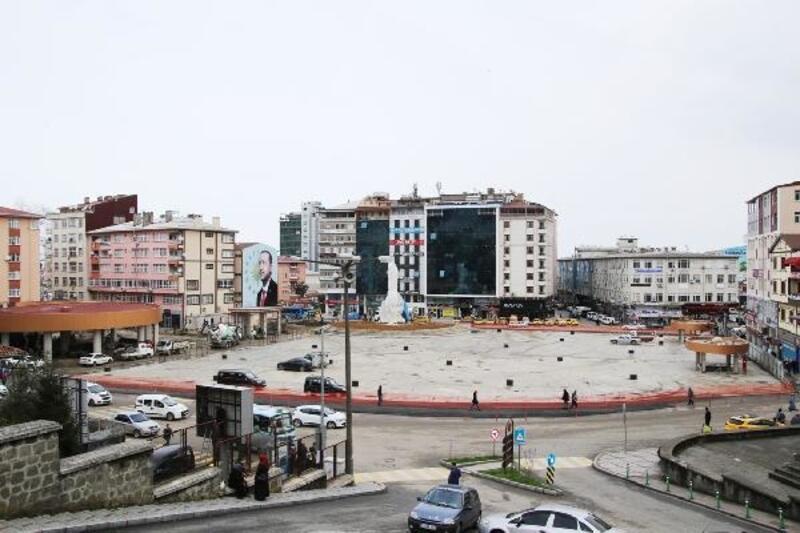 Rize Meydanı, Erdoğan'ın mitingiyle hizmete açılıyor