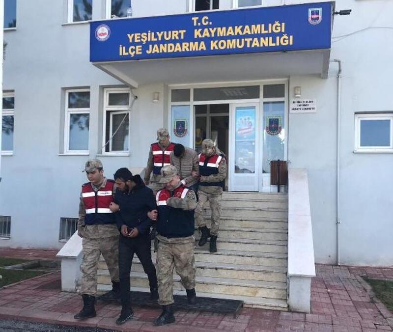 Malatya'da alüminyum talaş hırsızlığına 2 tutuklama