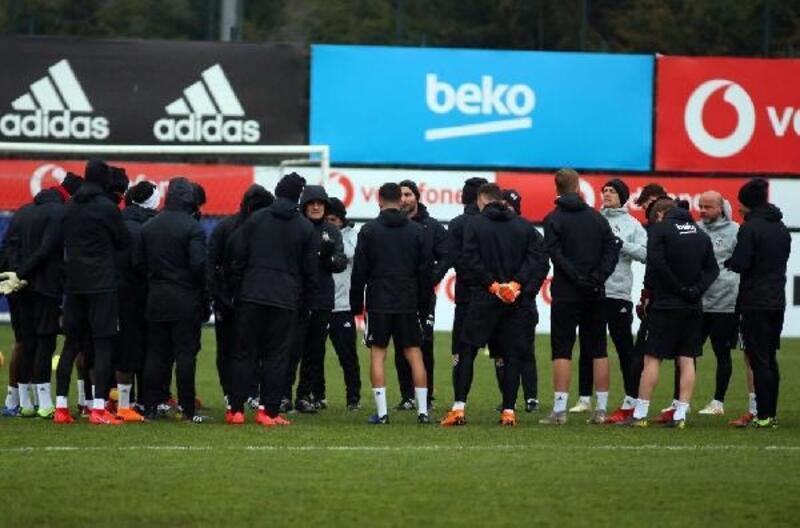 Beşiktaş, İM Kayserispor hazırlıklarını sürdürdü