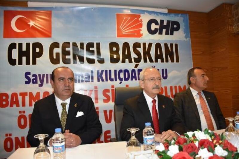 Kılıçdaroğlu STK temsilcileri ve kanaat önderleriyle buluştu