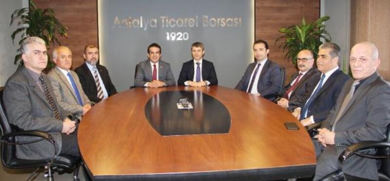 Vergi Dairesi Başkanı'ndan ATB'ye ziyaret