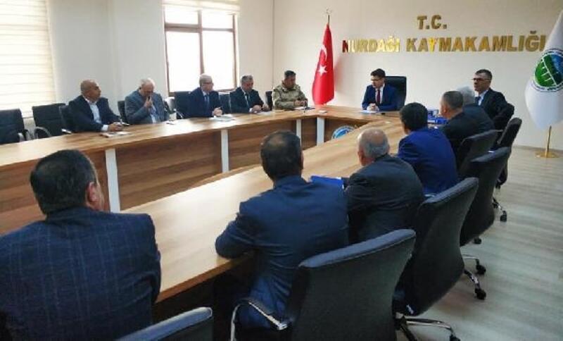 Nurdağı'nda seçim güvenliği toplantısı yapıldı