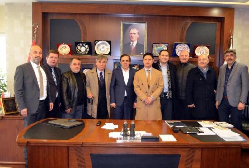 Güney Kore ASECA heyeti'nden Bolu TSO'ya ziyaret