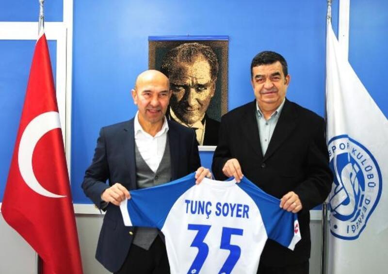 Soyer'den İzmirspor ve ASKF ziyareti