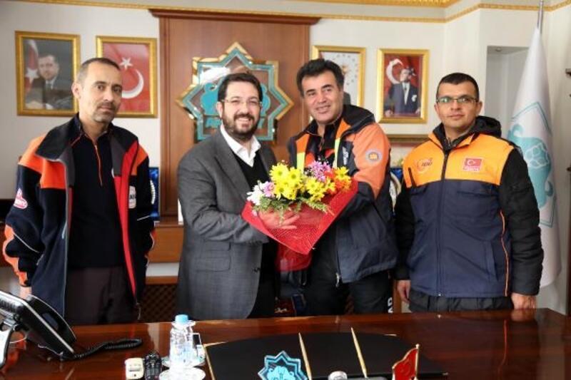 AFAD heyeti Başkan Yazgı'yı ziyaret etti