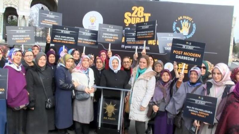 Beyazıt Meydanı'nda '28 şubat' protestosu