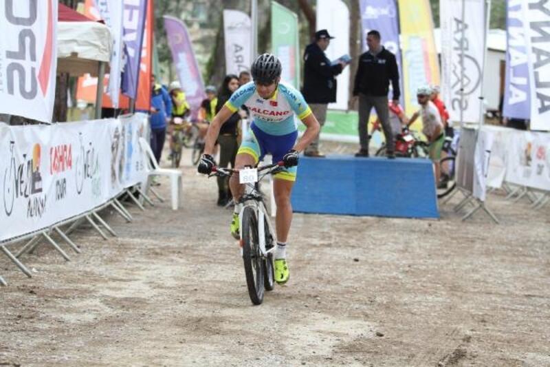 Alanya'da Dağ Bisikleti Yarışı