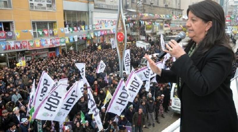 HDP'li Buldan, Hakkari'de konuştu