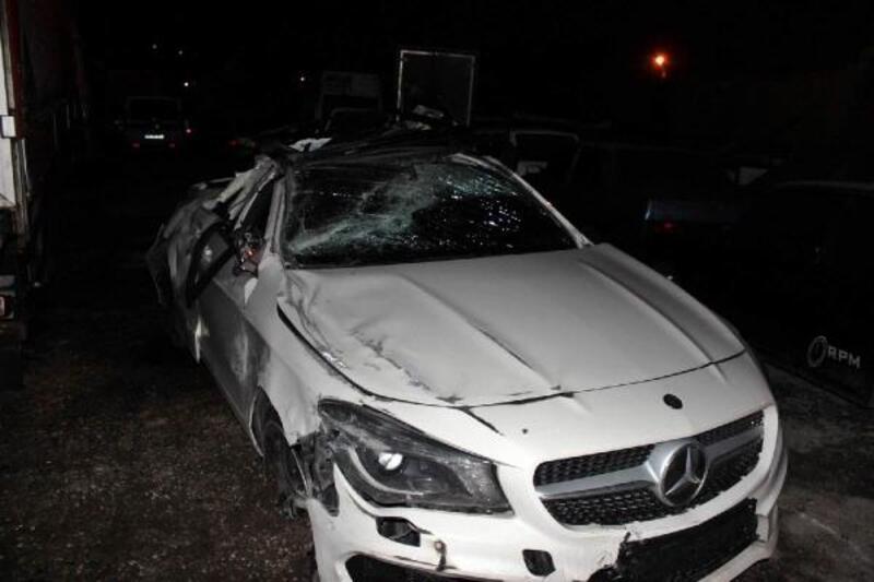 Sapanca'da kaza: 1 ölü, 1 yaralı