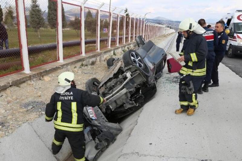 Yatağan'da kaza: 2'si Mısırlı 3 yaralı
