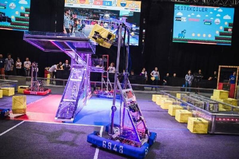 FIRST Robotics'de kazananlar ABD'deki şampiyonaya katılacak