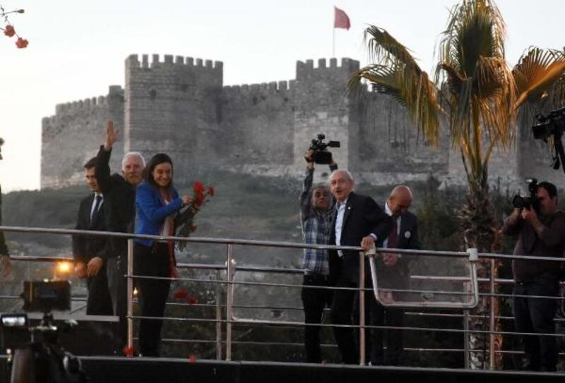 Kılıçdaroğlu ve Akşener, ikinci ortak mitingi Aydın'da yaptı