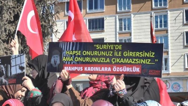 Bayburt'ta İHH'dan 8 Mart Dünya Kadınlar Günü yürüyüşü