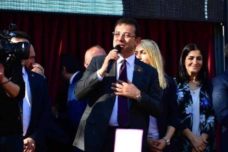 İmamoğlu Samandıra'da miting düzenledi