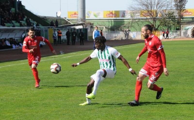 Giresunspor-Boluspor: 3-1