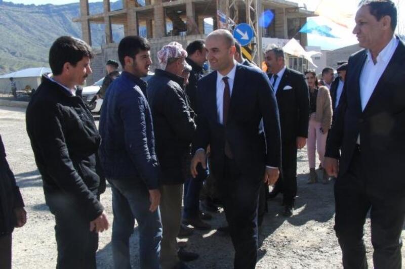 MHP'li Kılavuz'dan, Derecik ilçesinin Cumhur İttifakı adayı Çetinkaya'ya destek ziyareti