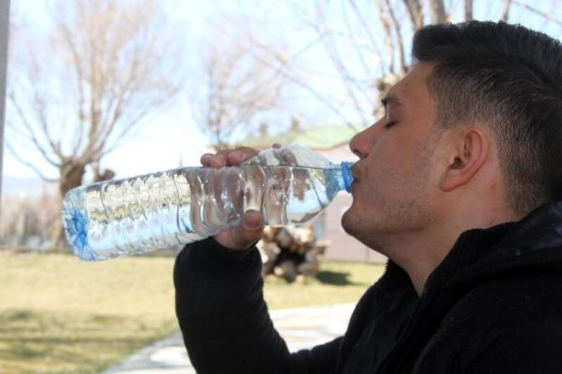 Şifalı suya yoğun ilgi
