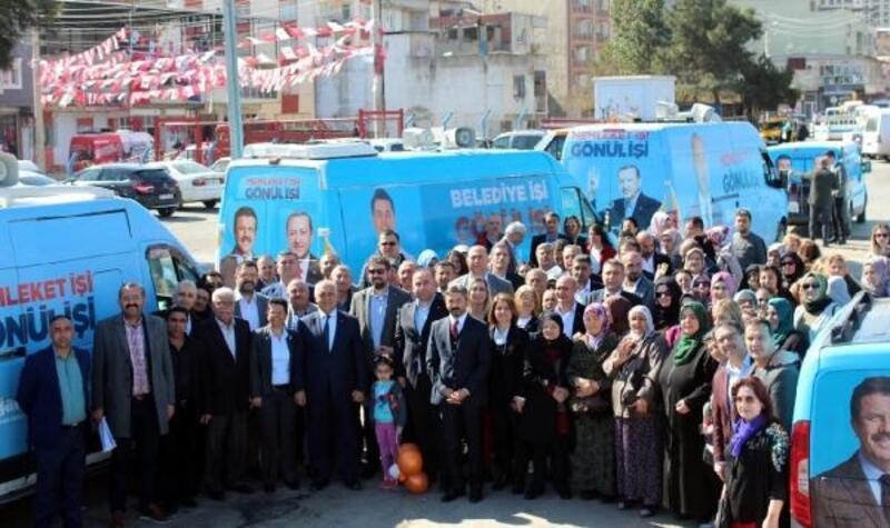 AK Partili Doğan her mahalleye park sözü verdi