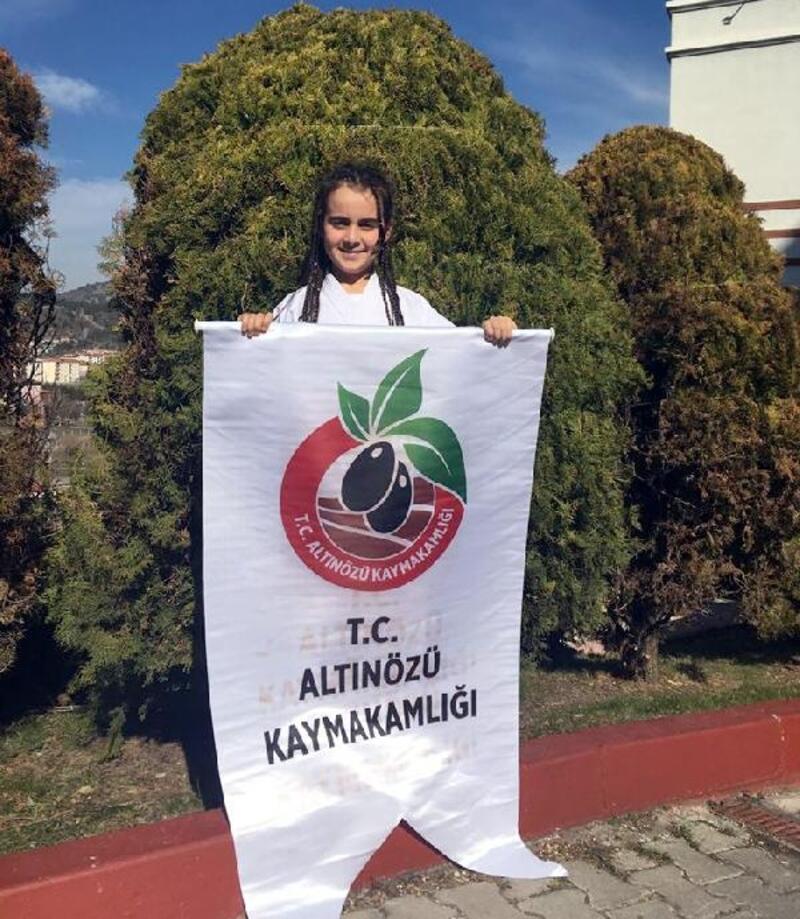 Altınözülü sporcu Türkiye şampiyonu oldu