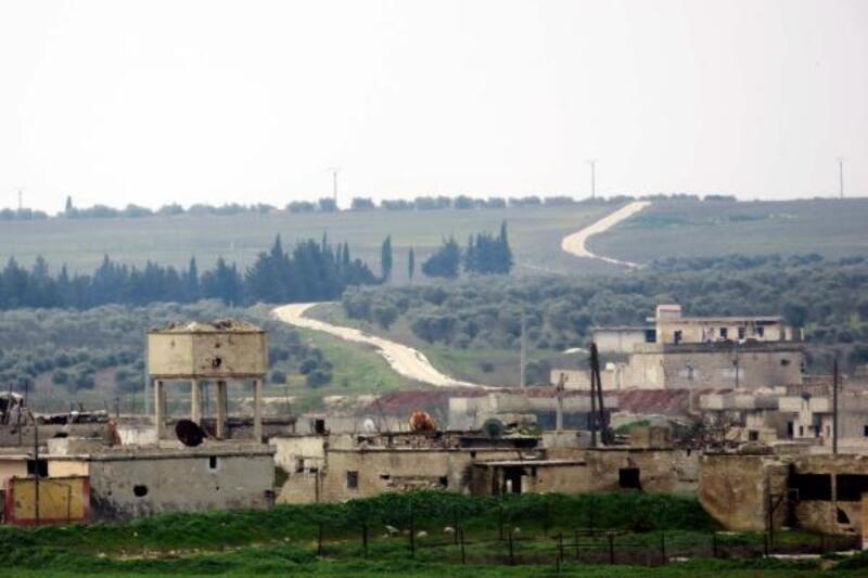 TSK ve Rus askerinden Tel Rıfat'ta ortak devriye hazırlığı