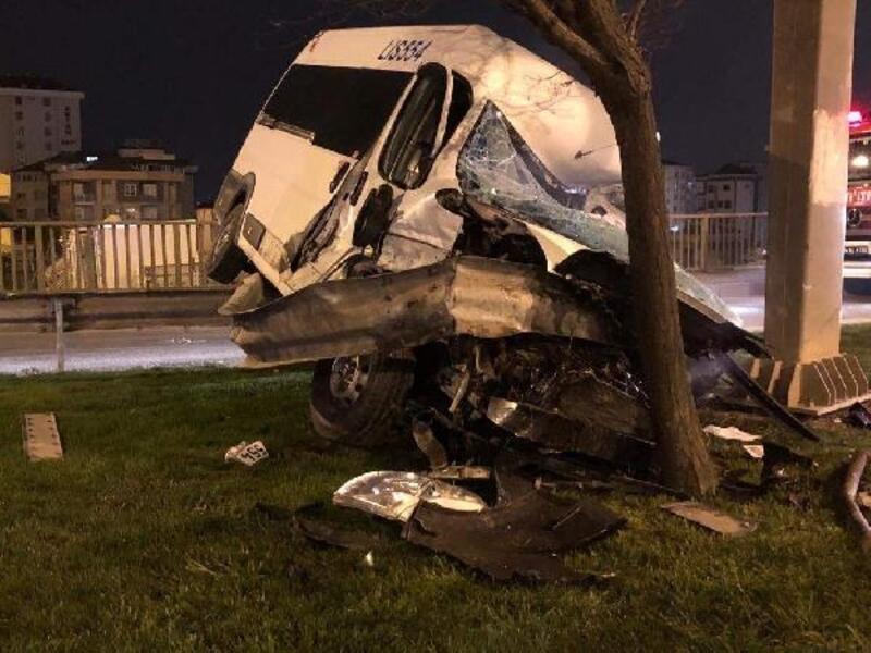 D100 Karayolu'nda trafik kazası: 1 ağır yaralı