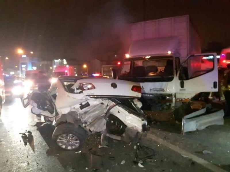 Bağcılar'da trafik kazası: 3 yaralı
