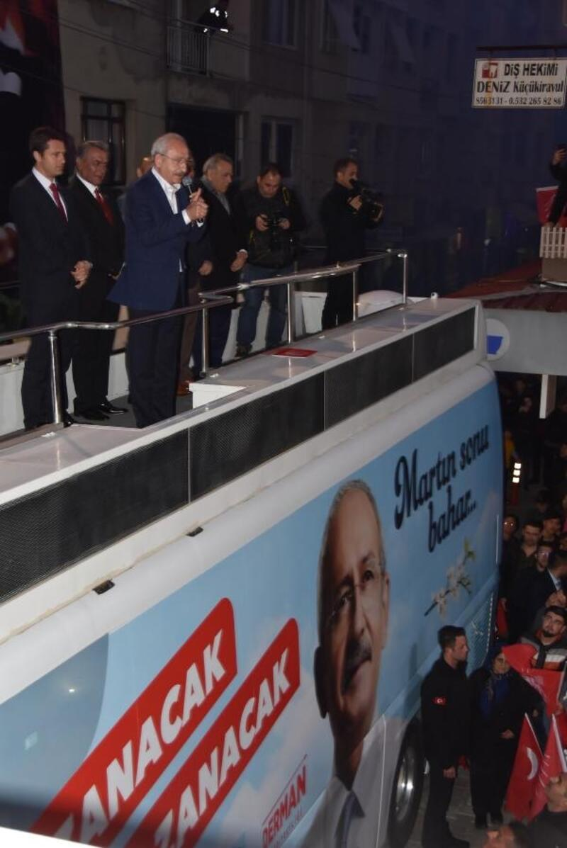 Kılıçdaroğlu Izmir'de