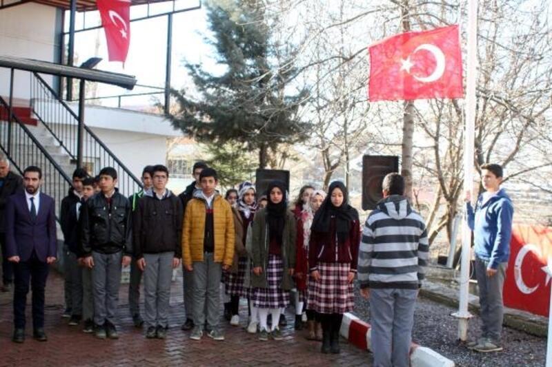 Çelikhan'da Çanakkale Şehitleri anıldı