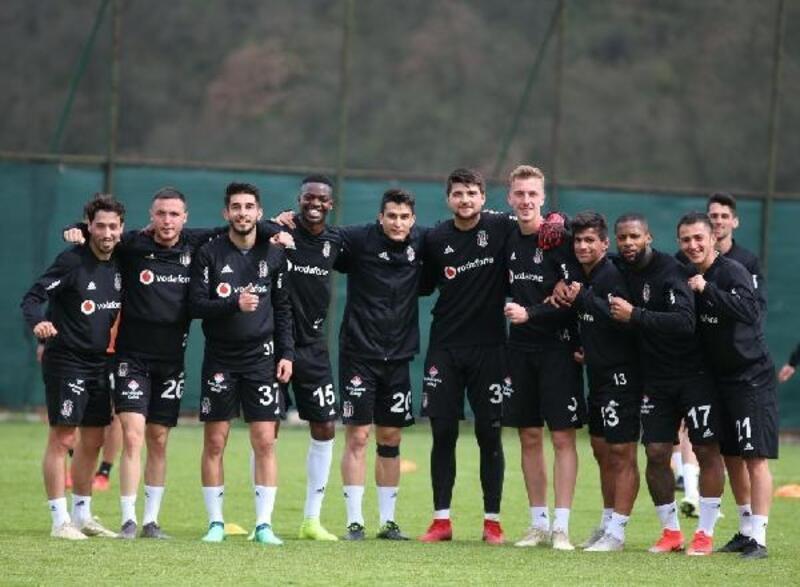 Beşiktaş'ta Rizespor maçı hazırlıkları sürüyor