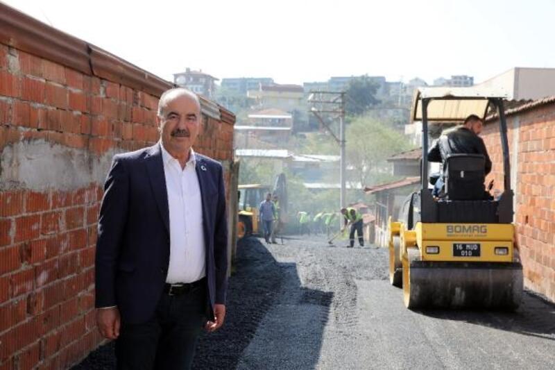 Mudanya'da asfalt seferberliği