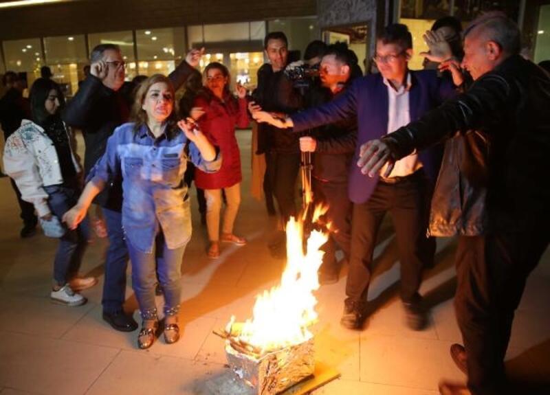 İranlı turistler, Rize'de nevruzu kutladı