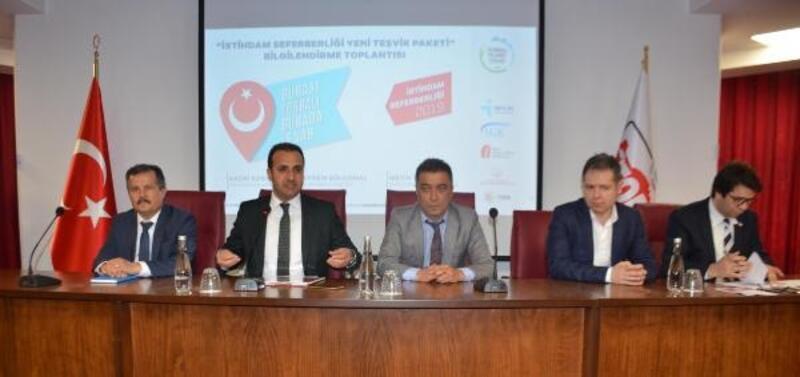 Torbalı'da 'İstihdam Seferberliği Yeni Teşvik Paketi' tanıtıldı