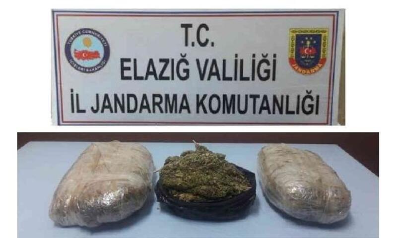 Menfezde 5 kilo uyuşturucu bulundu