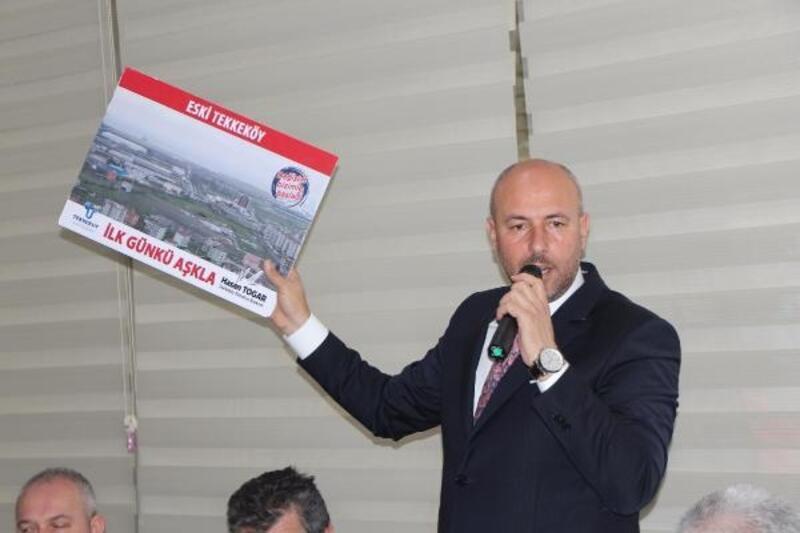 Başkan Togar: Artık sıra Tekkeköy'ü süper lige taşımaya geldi