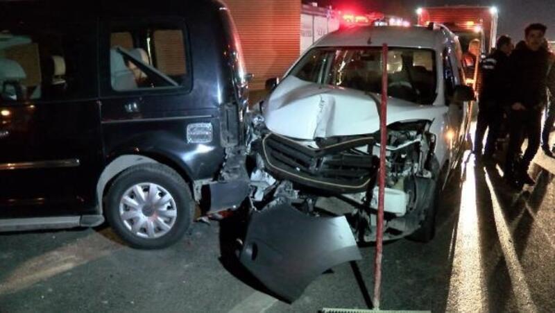 Zeytinburnu'nda aynı noktada iki kaza: 7 yaralı