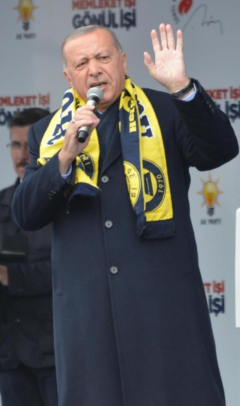 Erdoğan: HDP,İstiklal Marşı'mızın, bayrağımızın düşmanıdır