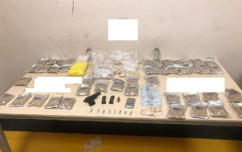 Gaziantep'te uyuşturucu operasyonu: 49 bin 854 uyuşturucu hap ele geçirildi