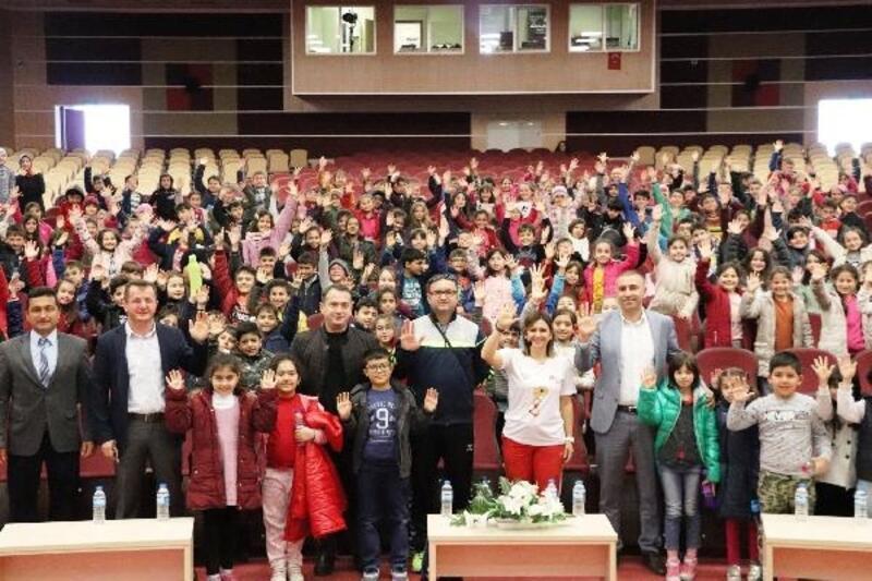 Karaman'da 'Spor Kültürü ve Olimpik Eğitim Projesi' etkinliği