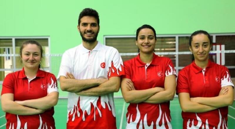 Badmintoncular Polonya'da madalya arayacak