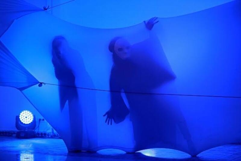 'Butoh uzam dansı' yapan Japon sanatçı Türkiye'de