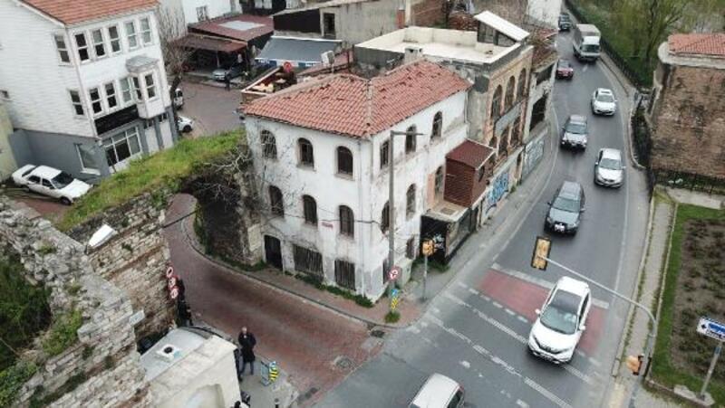 Polis müzesi olması planlanan Cibali Karakolu havadan görüntülendi