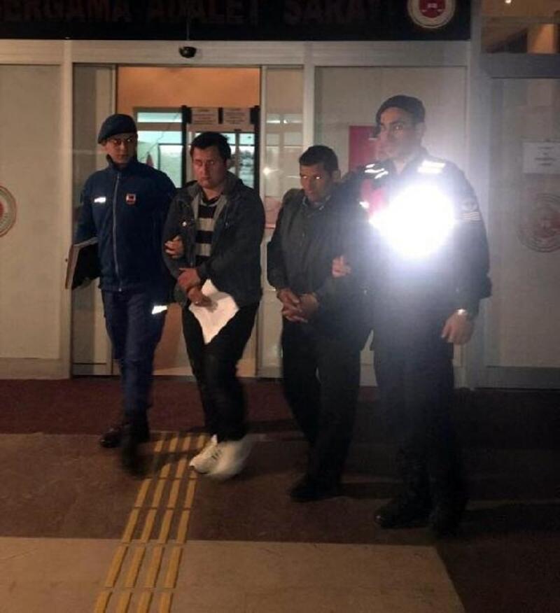 Bergama'da baba oğul hayvan hırsızlığından tutuklandı