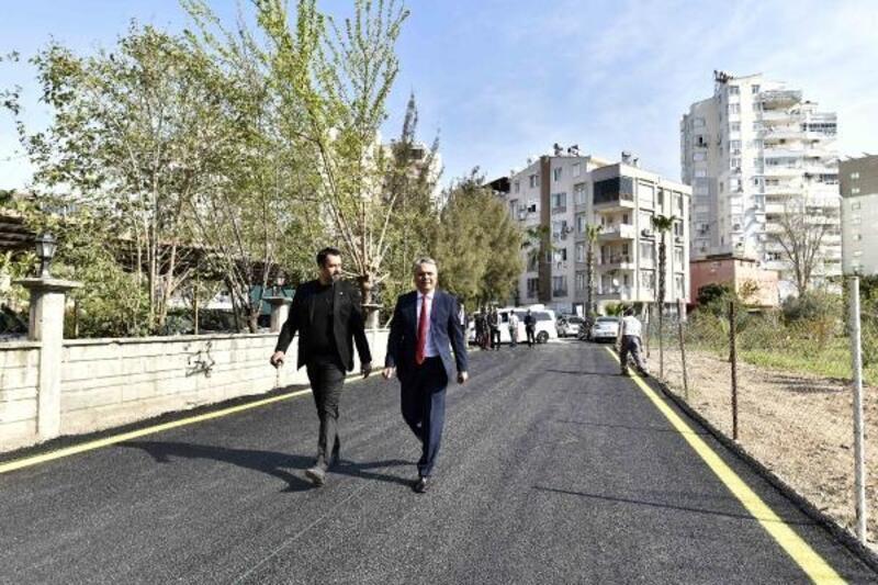 Kırcami'de ilk asfalt çalışması
