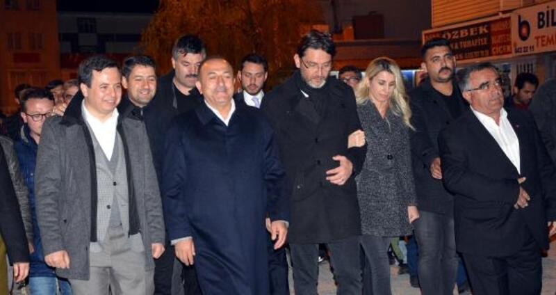 Bakan Çavuşoğlu Korkuteli'de