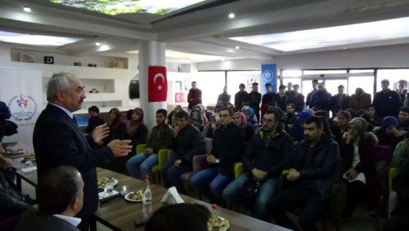 İçişleri Bakan Yardımcısı Ersoy Erciş'te
