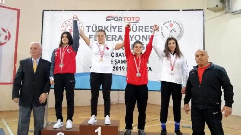 'Altın Kız Eda' Türkiye Şampiyonu